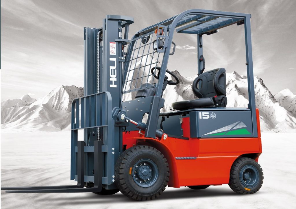 forklift truck for cold storage Heli